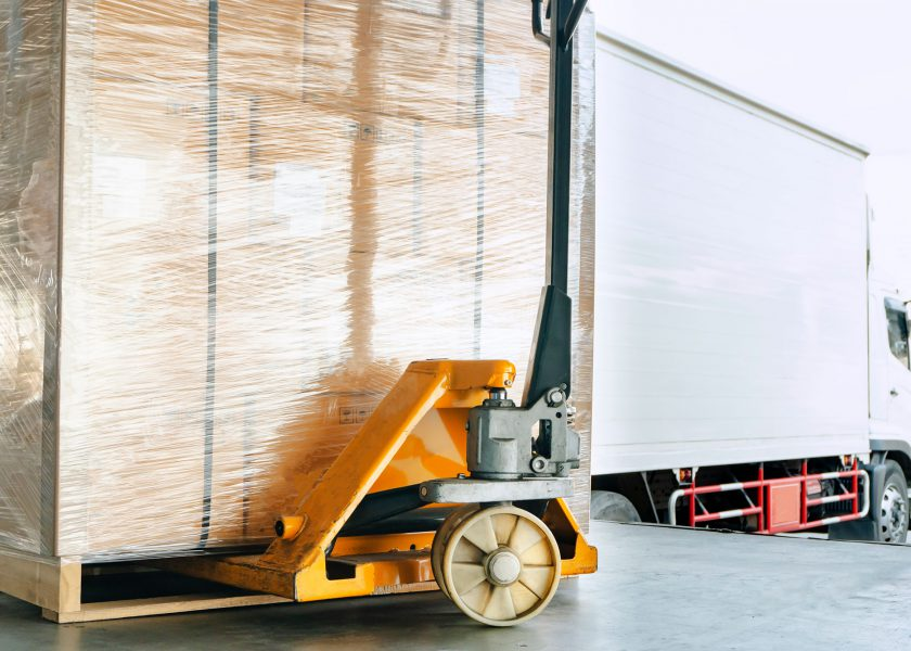 Pallet and Pump Truck